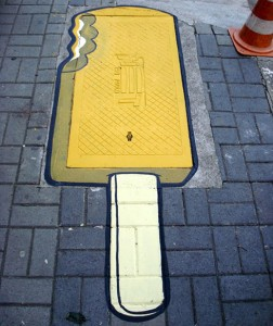 street art ice cream