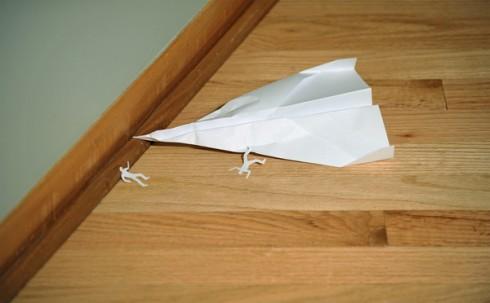 4/4/09: fatal paper airplane crash