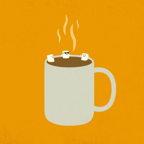 11/1/09: hot chocolate