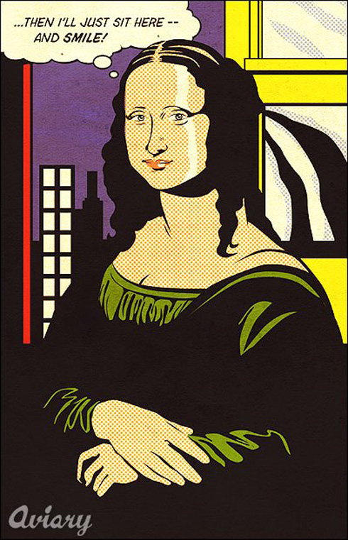 mona_lisa_lichtenstein