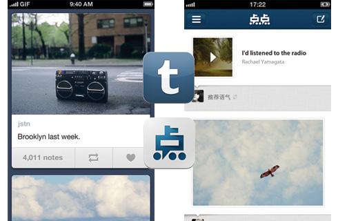 Tumblr vs Diandian