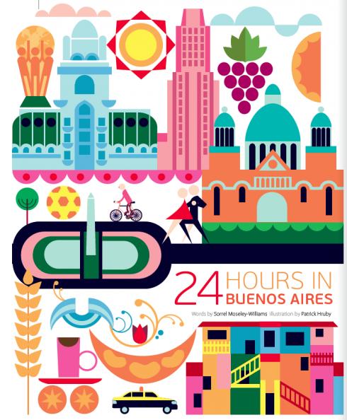 24 horas en Buenos Aires