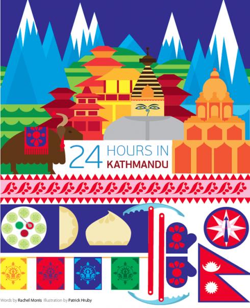 24 horas en Kathmandu