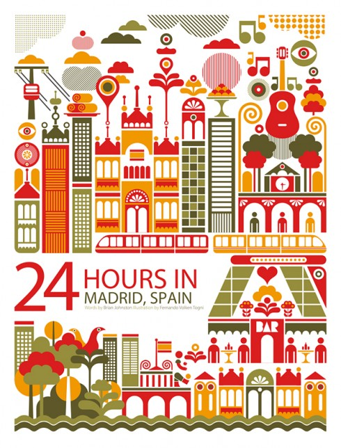 24 horas en Madrid