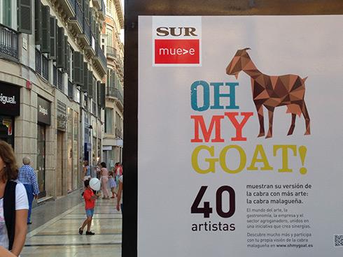 Oh my goat - Exposición