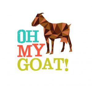 identidad gráfica Oh my Goat!