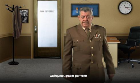 Carlos Alberto Diego en el spot El regalo que nunca llegó de la agencia El Cuartel